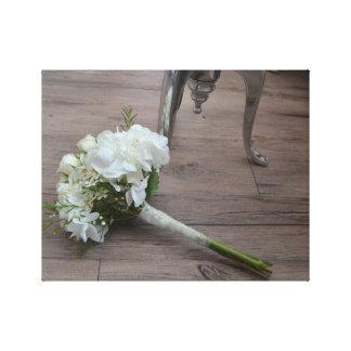 Der Der Blumenstrauß-Leinwand-Druck der Braut Gespannte Galeriedrucke