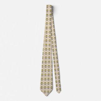 Der Discgolfkorb ganz über Hals-Krawatte Bedruckte Krawatten