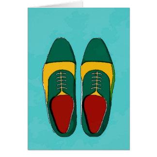 Der Dollar-Schuhe der Männer Karte