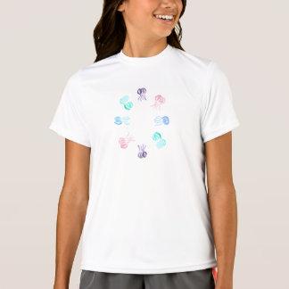 Der doppelt-trockene T - Shirt der Mädchen mit