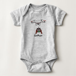 Der Drohnekopilotbaby onsie Overall Baby Strampler