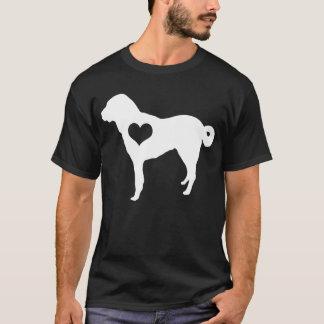 Der dunkle T - Shirt der anatolischen