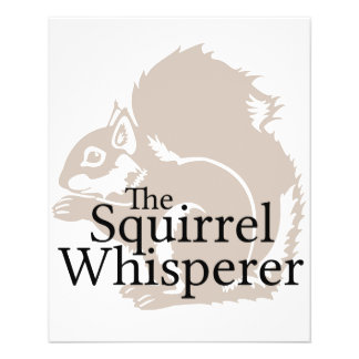 Der EichhörnchenWhisperer 11,4 X 14,2 Cm Flyer