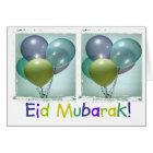 Der Eid Mubarak der bunte Kinder Karte