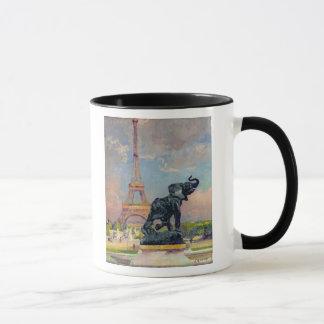 Der Eiffelturm und der Elefant durch Fremiet Tasse