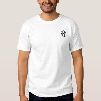 Der einfaches das Monogramm-Schablone Weiß