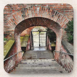 Der Eingang der Festung Untersetzer