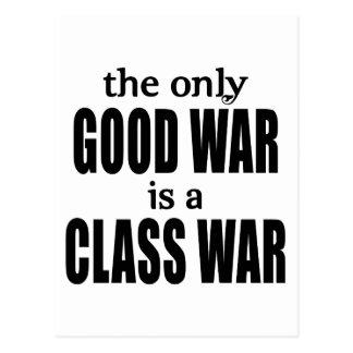 Der einzige gute Krieg ist ein Klassenkampf Postkarten