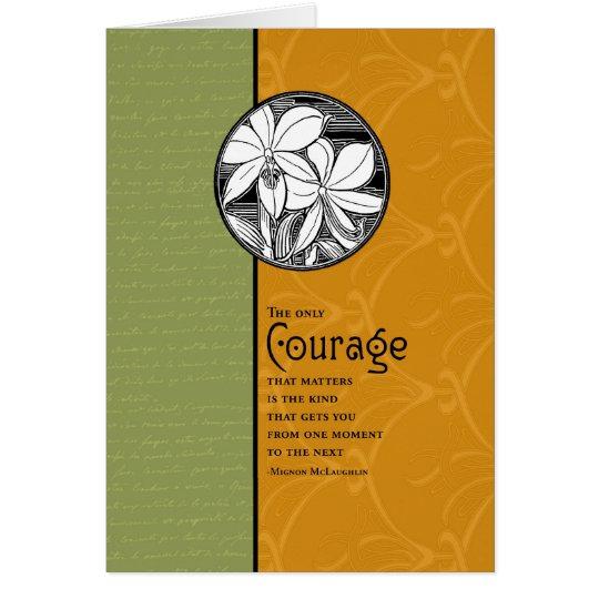 Der einzige Mut, der ist Karte