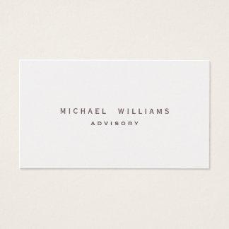 DER elegante MINIMALISTISCHE PROFESSIONELLER perlt Visitenkarten