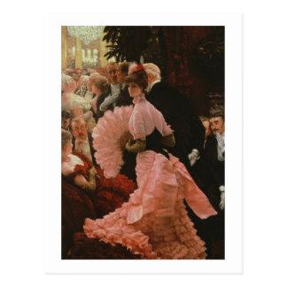Der Empfang oder, L'Ambitieuse (politische Frau) c Postkarte