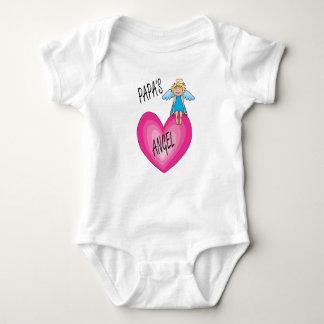 Der Engels-Säuglings-Bodysuit des Papas Baby Strampler