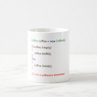 Der Entwickler-Kaffee Tasse