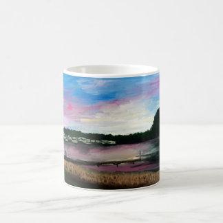 Der Eriesee-Hafen-Malerei-Tasse Kaffeetasse