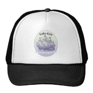 Der Eriesee-Segelschiff Mütze