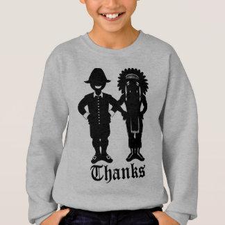 Der Erntedank-Sweatshirt-festliches des Kindes des Sweatshirt
