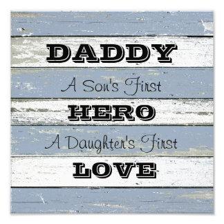 Der ersten die erste Liebe der Held-Tochter des Foto Drucke