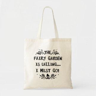 Der feenhafte Garten nennt! Feenhafte Tragetasche