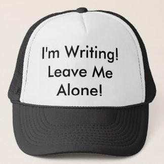 """Der Fernlastfahrer-Hut: """"Ich schreibe! Verlassen Truckerkappe"""