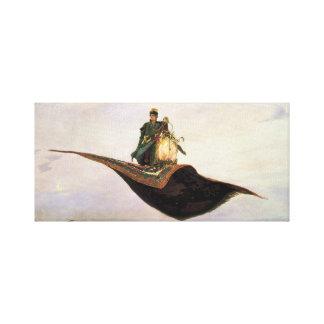 Der Fliegen-Teppich Galerie Falt Leinwand