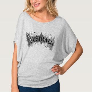 Der Flowy Frauen Australiens Vintages T-Shirt