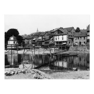 Der Fluss Nahe, Bad Kreuznach, c.1910 Postkarte
