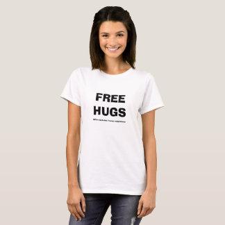 Der Frauen geben Umarmungen ausgenommen T-Shirt