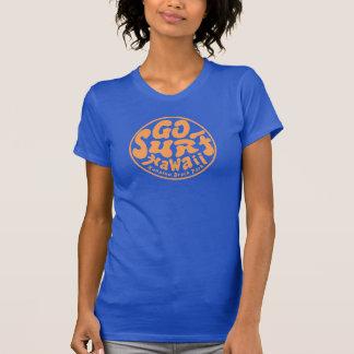 Der Frauen GEHEN BRANDUNGS-HAWAII-T - Shirt