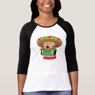 Der Frauen Hülsen-T - Shirt der Trumpf-des
