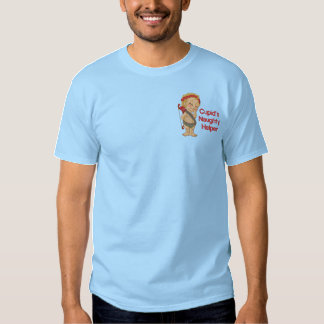 Der freche Helfer des Amors Besticktes T-Shirt