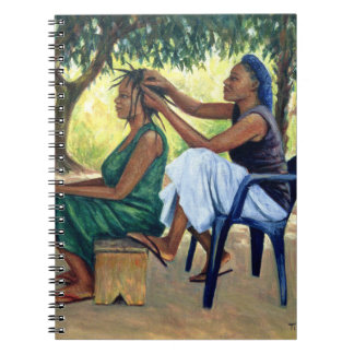 Der Friseur 2001 Spiral Notizbuch