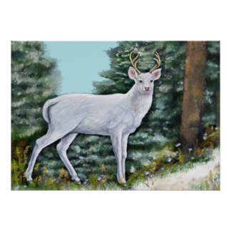 Der Frost-Hirsch Poster