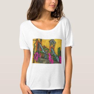 Der fundamentale italienische Balkon T-Shirt