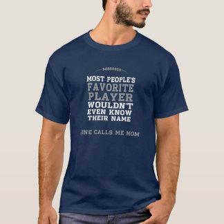 Der fußball-Spieler-Shirt-DK-Front der Mammas nur