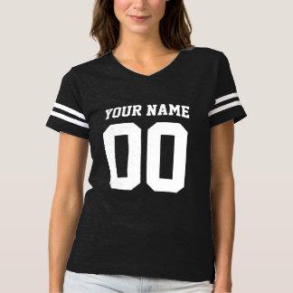 Der Fußball-T - Shirt der Name-Zahl-Frauen