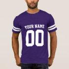 Der Fußball-T - Shirt der Name-Zahl-Männer
