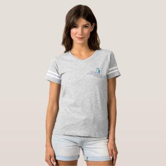 Der Fußball-T-Stück der klugen Frauen T-shirt