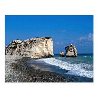 Der Geburtsort der Aphrodite, Pissouri, Zypern Postkarte