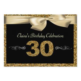 Der Geburtstags-Einladung der schwarzen Frau des 12,7 X 17,8 Cm Einladungskarte