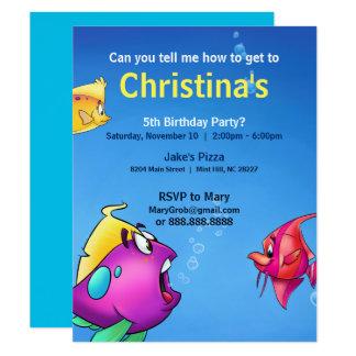 Der Geburtstags-Karte der Blase 10,8 X 14 Cm Einladungskarte
