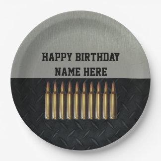 Der Geburtstags-Namen-Party-Teller der Pappteller