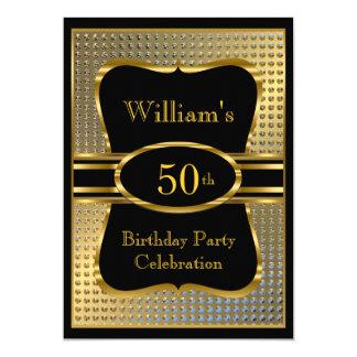 Der Geburtstags-Party Einladung der eleganten 12,7 X 17,8 Cm Einladungskarte