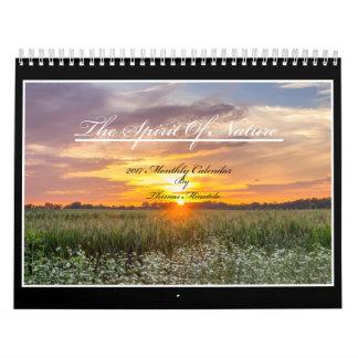 Der Geist des Kalenders der Natur-2017 durch Tom Kalender