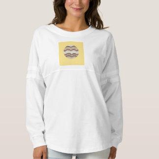 Der Geist-Jersey-T - Shirt der runden beige