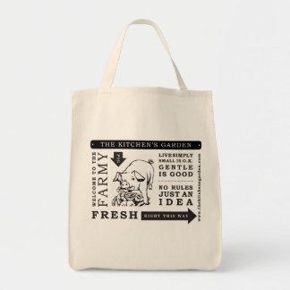 Der Gemüsegarten-Lebensmittelgeschäft-Tasche Tragetasche