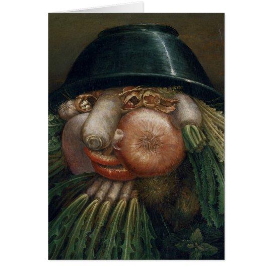 Der Gemüsegärtner - Giuseppe Arcimboldo Karte