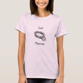 Der gerechte verheiratete T - Shirt der Frauen