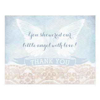 Der gesendete Himmel danken Ihnen, Postkarte