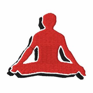 Der gestickte T - Shirt der Männer Yoga