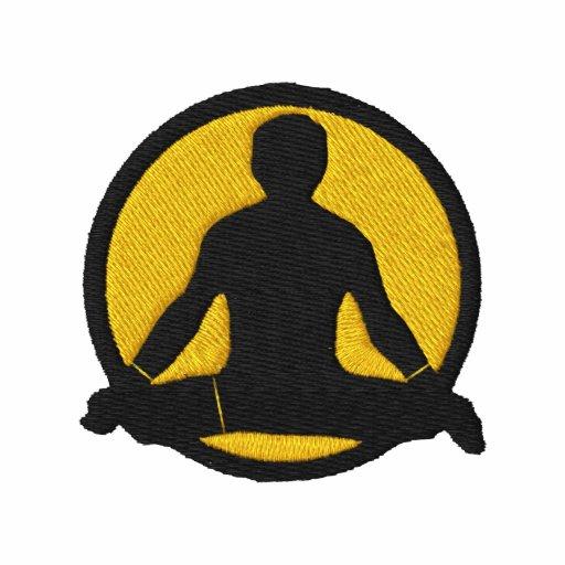 Der gestickte T - Shirt der Yoga-Männer